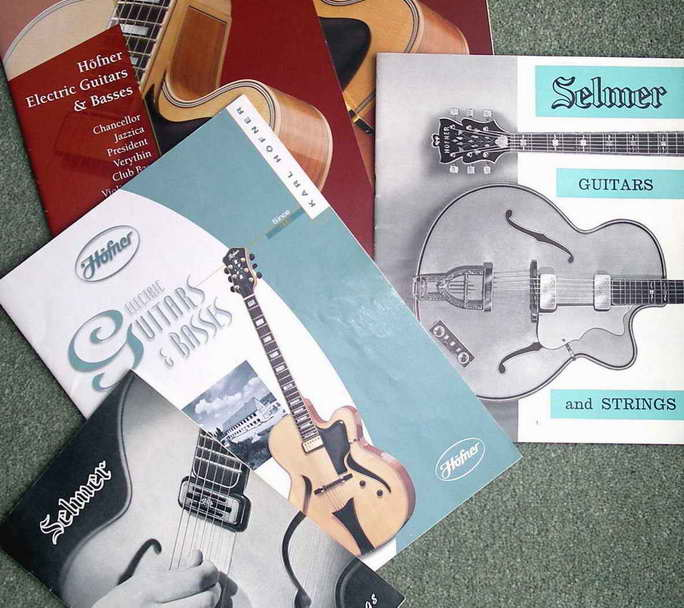 vintage guitar catalogues for sale